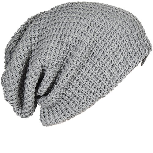 d3f5dfdff14 FORBUSITE Mens Slouchy Long Oversized Beanie Knit Cap for Summer Winter B08