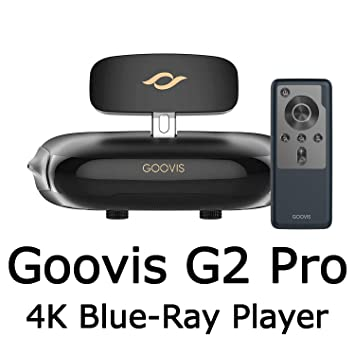 GOOVIS Pro VR Headset 3D Theater Goggles,3D Viewer Support