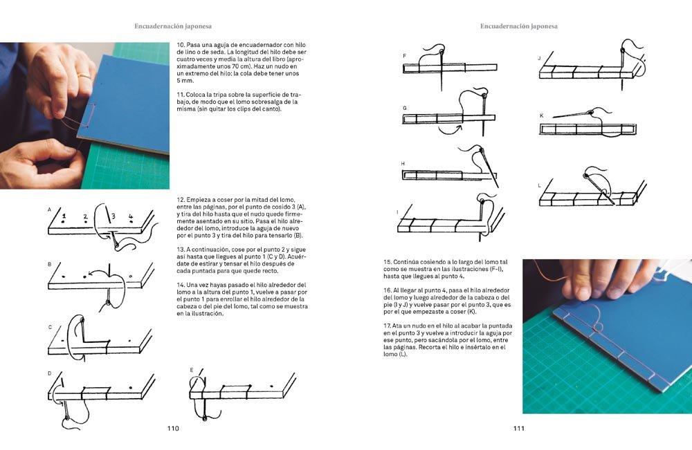 Las artes del libro : una guía para fabricar y encuadernar libros en ...