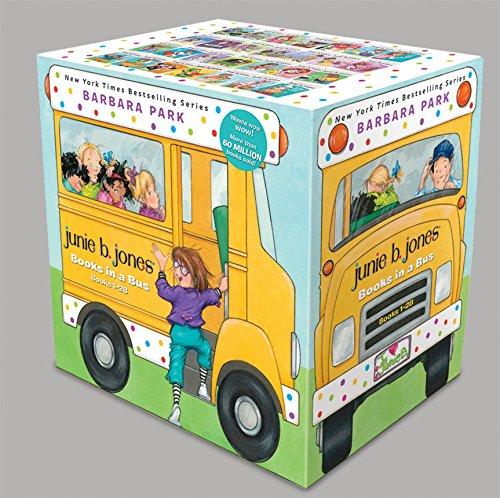 Junie B. Jones Books in a Bus (Books 1-28) 2nd Grade Box Set