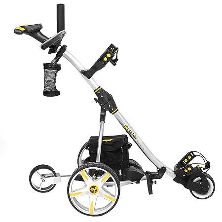 Bat-Caddy X3R Remote Control Cart w Free Accessory Kit, Silver, 20Ah Lithium