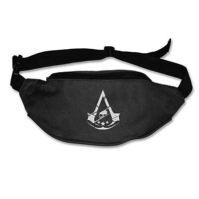 Unisex Outdoors Assassin's Creed Syndicate Logo Waist Bag Packs