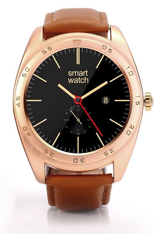Rubility®K89 Pantalla Ronda Bluetooth reloj SmartWatch con banda ...