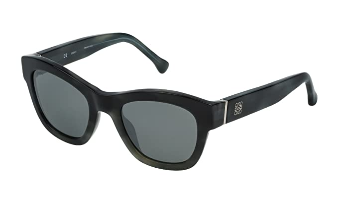 Loewe SLW969M5196NX Gafas de sol, Brown/Beige Mop Havana, 51 ...