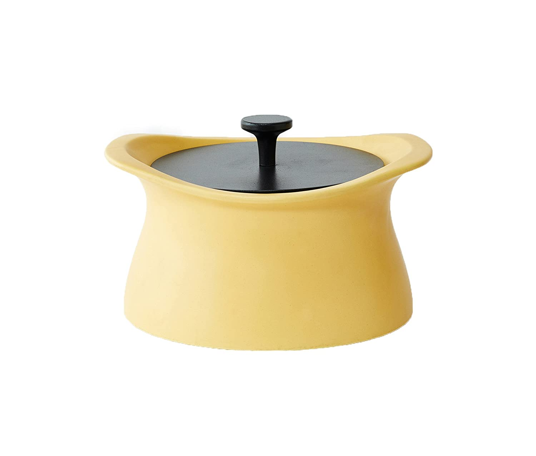 モラトゥーラ 土鍋 best pot 16cm マスタードイエロー   B07F485Q7K