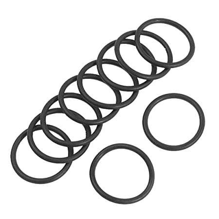 27mm x 22mm x 2.5mm Rubber O Rings Oil Seal Gasket Washer ...