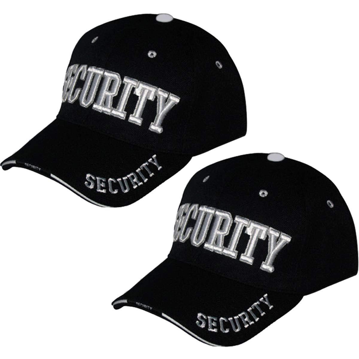 Amazon.com  Online Best Service 2 Pack Security Hat Cap Uniform Hats ... a3a5bb9d63c