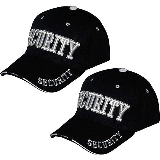 56cb32d3c8f Amazon.com  Online Best Service 2 Pack Security Hat Cap Uniform Hats ...