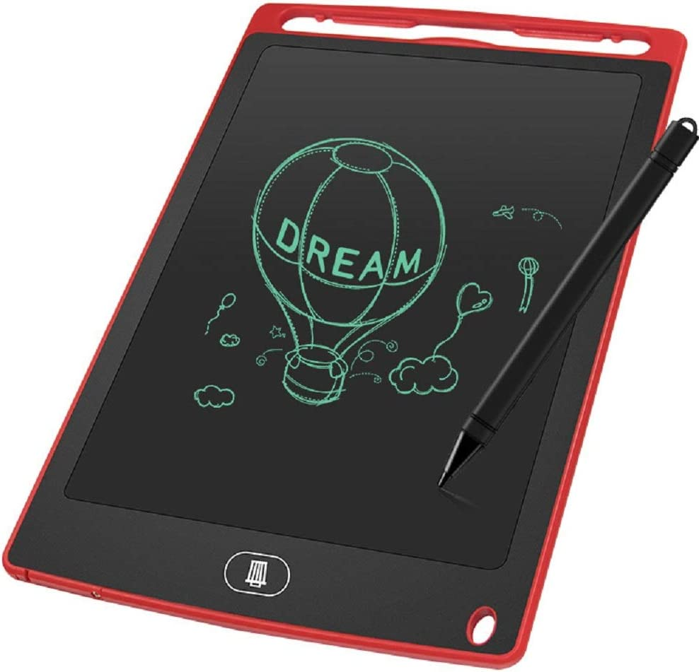 LCD Writing Tablet 8.5 Inch Screen Digital eWriter Electronic Graphics Tablet Portable Writing Board Handwriting Doodle Drawing Pad Message Memo Board for Kids Adult Home School Office