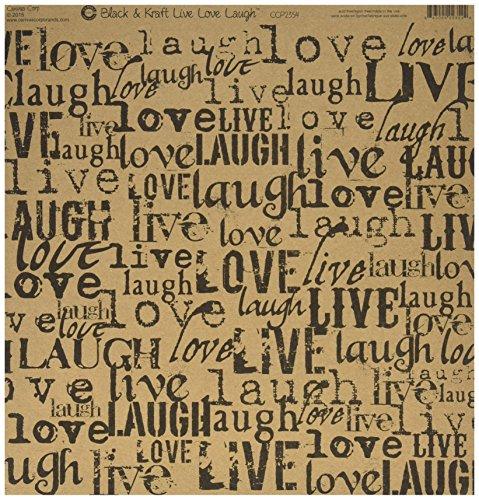 printed-single-sided-cardstock-12x12-black-kraft-live-love-laugh-15-per-pack