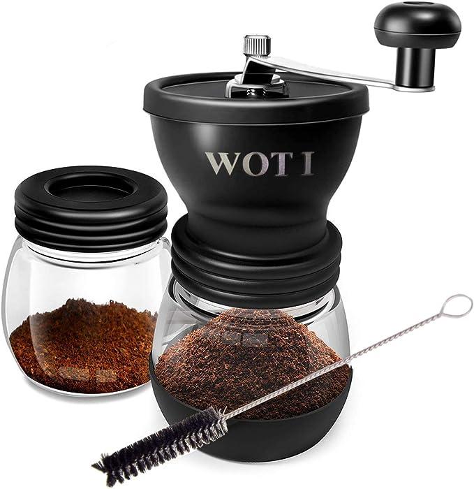 WOT I Molinillo de café manual con mecanismo de cerámica ...