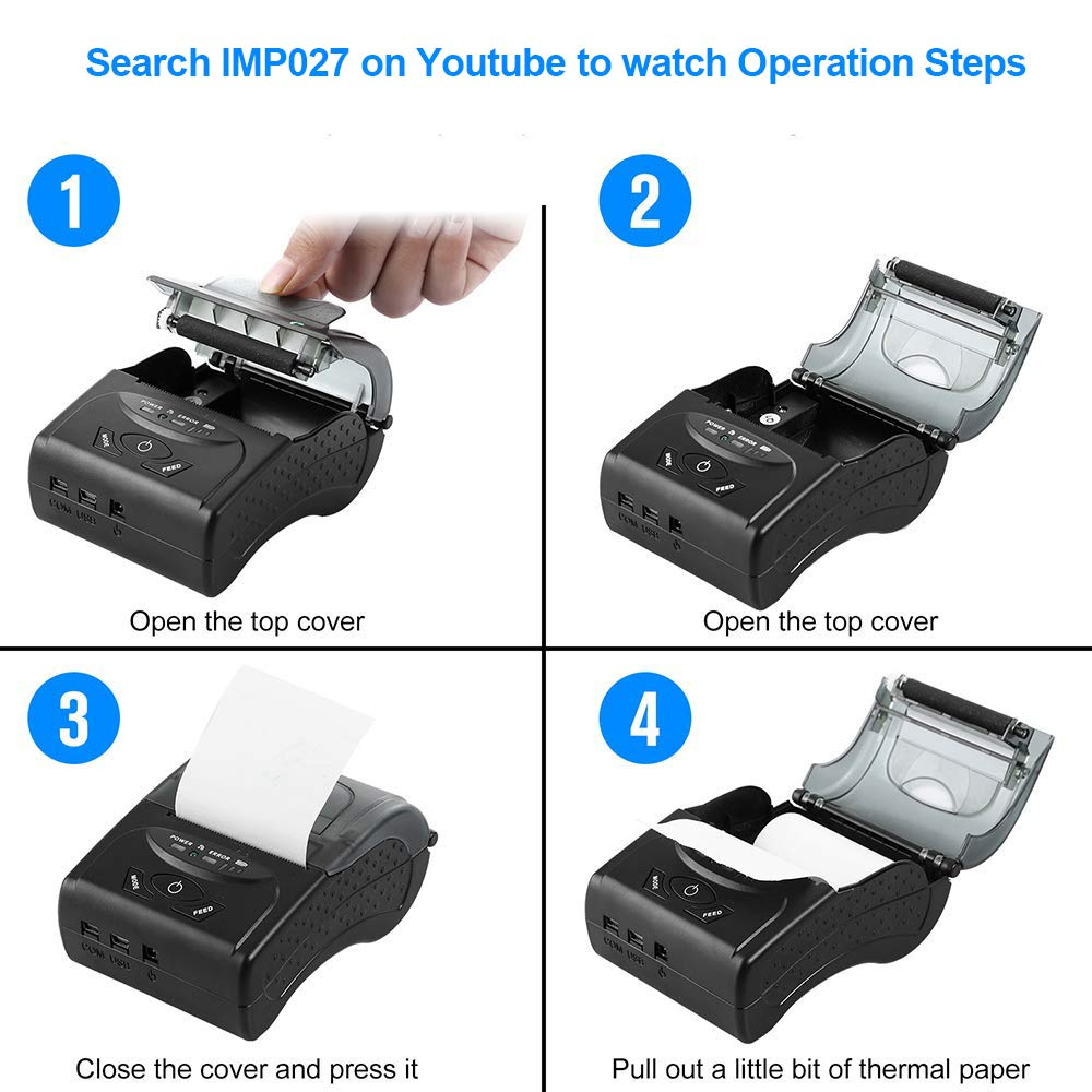 Epson Receipt Printer Command