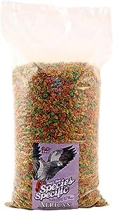Pretty Bird International Bpb79313 Species Specific African Bird Food With Extra Calcium, 20-Pound
