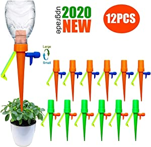 Automatic irrigation equipment for aquatic plants for drip irrigation system, Plant Waterer with Slow Release Control Valve ,Adjustable Water Volume Drip System for Home and Vacation Plant Watering