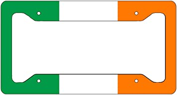 Ireland Flag Any Text Personalized Novelty Car License Plate