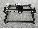 DIY 15mw mini Laser engraving machine Stainless steel laser engraving machine Laser Engraver Engraving area:3040CM BLACK