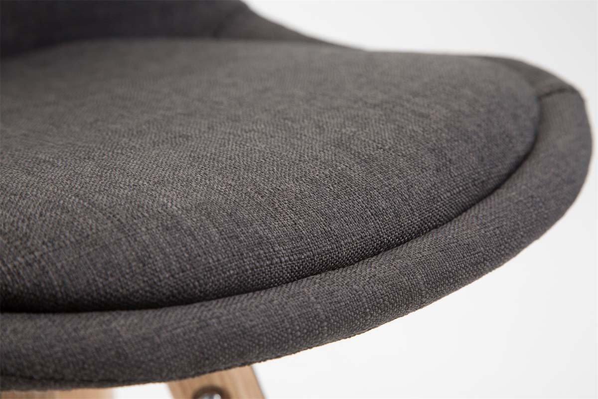 Clp sgabello alto franklin in tessuto sgabello bar con telaio in