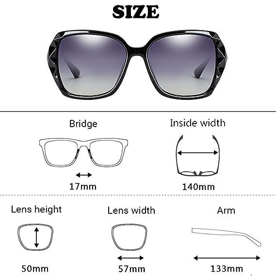 Haodasi Frau Quadratische Gläser Kurzsichtigkeit Sonnenbrille Kurzsichtigkeit Kurzsichtig Brillen Brillen BQm4baGA2