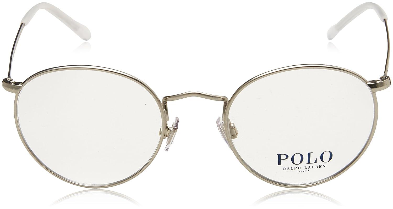 f3f7ba3372 Polo PH1179 Eyeglasses 9326 Semi Shiny Brushed Silver 48-20-145   Amazon.co.uk  Clothing
