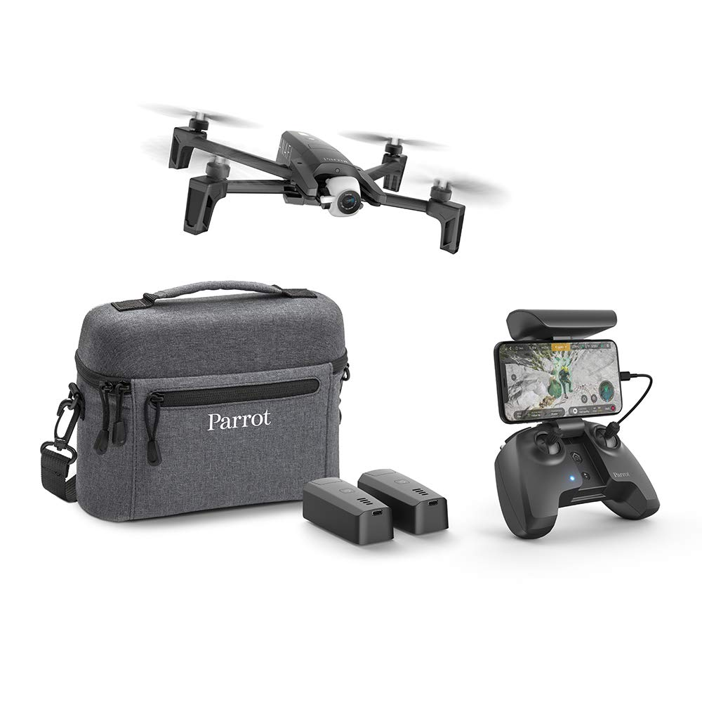 Parrot - Drone Anafi Extended - Pack with 2 Additional Batteries, Carrying  Bag, Additional Propeller Blades and Others - 4K HDR Camera with 180°