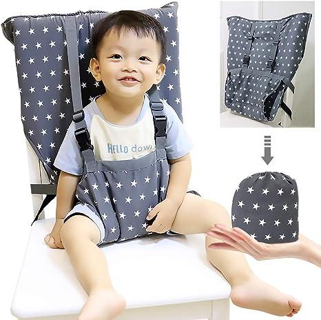 Trona portátil para bebés y niños pequeños Arnés de seguridad ...