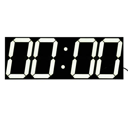 Bestland Large LED Digital Wall Clock Remote Control Jumbo Larger