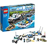 Lego City Police off-road boat carrier 60045 (Japan import / The package and the manual are written in Japanese)
