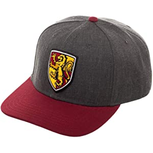 ef2f8f455 Amazon.com: Harry Potter Snapback Hat House Crest Adjustable Caps ...