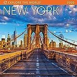 "New York Wall Calendar 2020 Monthly January-December 12   x 12"""