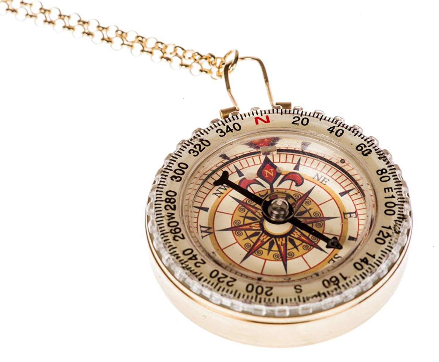 gold fullxfull necklace circle disk compass listing tiny zoom il