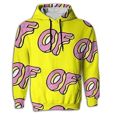 c5641b4a4e5c Amazon.com  Men s Odd Future Printed Pullover Hoodie Fleece Hoodies  Sweatshirt Hooded With Pocket  Clothing