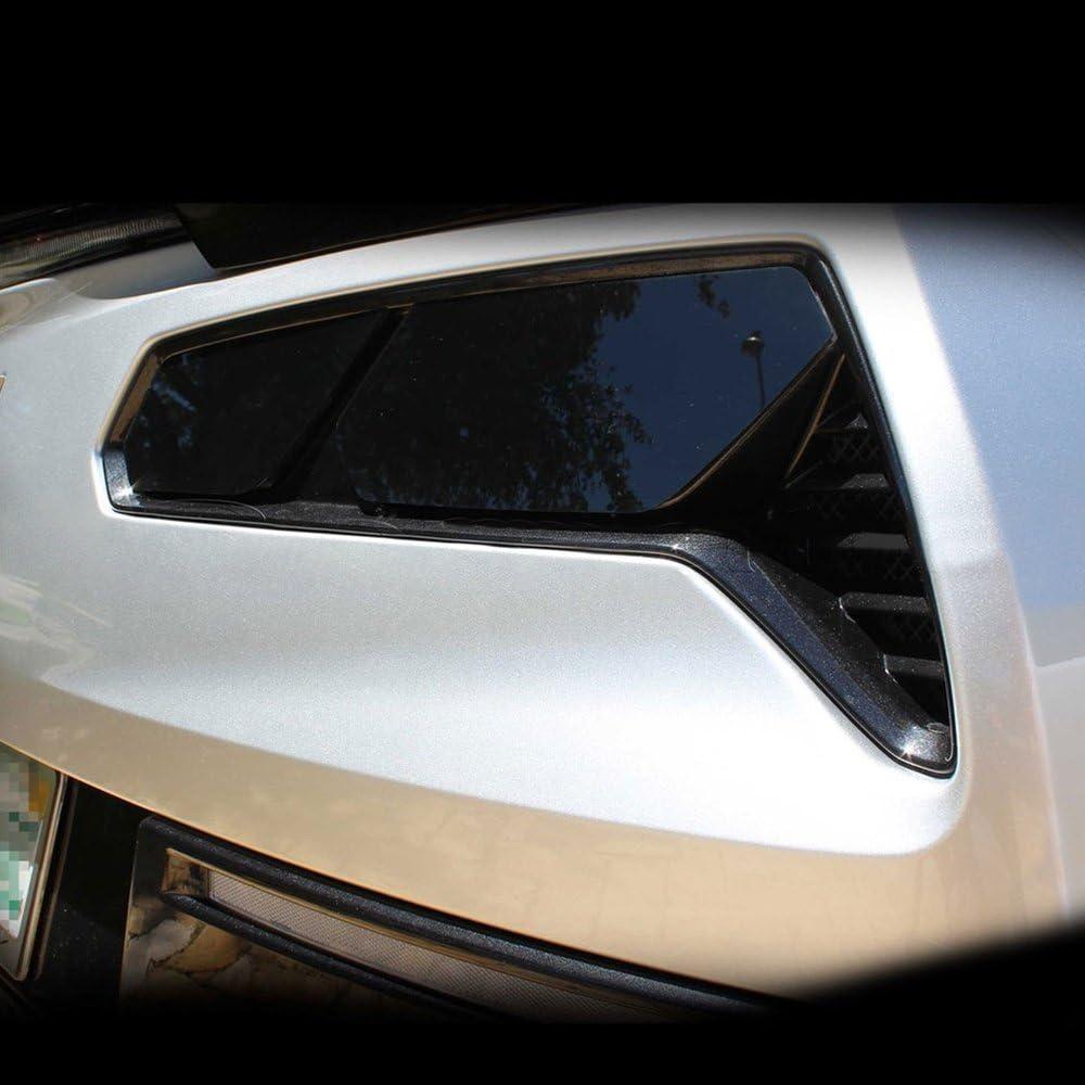 Precut Vinyl Tint Overlays for 2014-2017 Chevy Corvette C7 Rear Turn Signals /& Reverse Light 20/% Dark Smoke