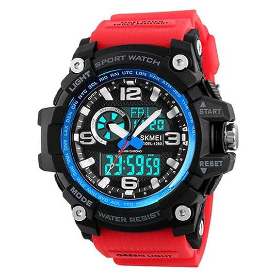 El reloj impermeable luminoso de los hombres se divierte las fuerzas especiales del reloj electrónico mira