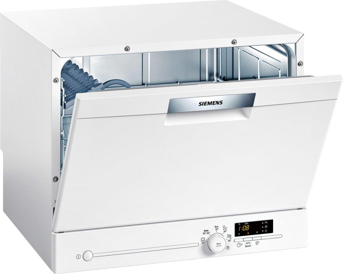 Siemens SK26E221EU iQ300 speedMatic Compact-Geschirrspüler / A+ / 6 ...