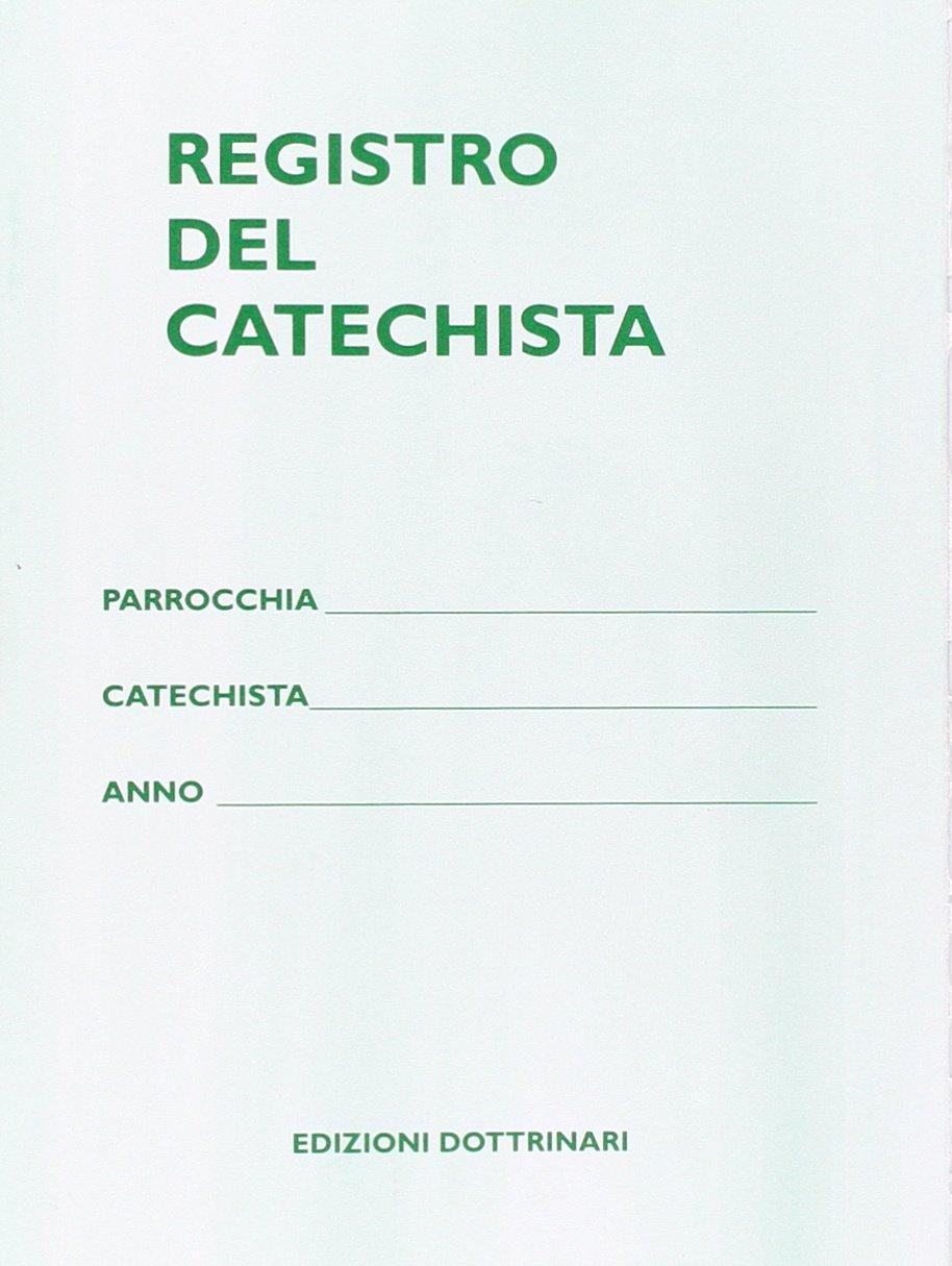 registro del catechista da