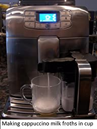Key Features Of Saeco Philips Intelia Deluxe Espresso Machine