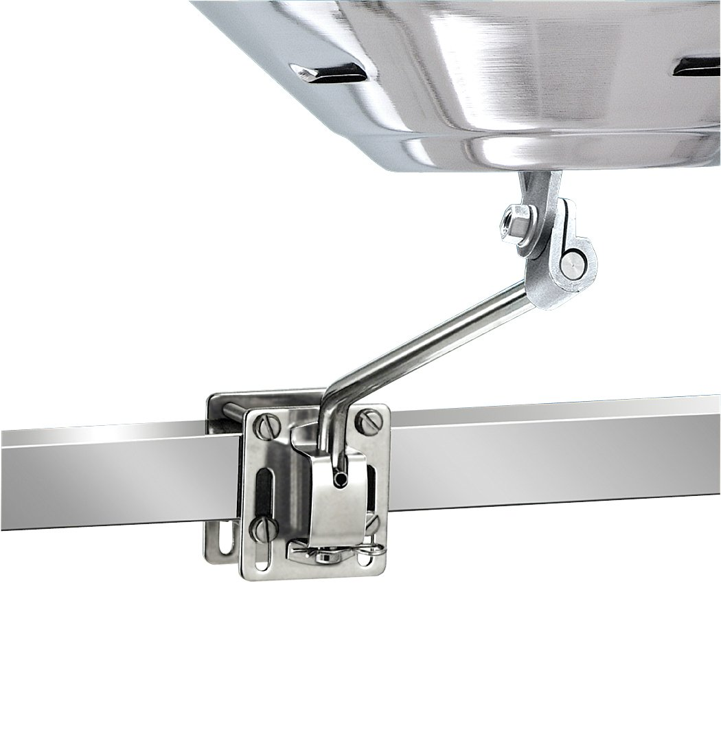 Magma Products Square Rail//Vertical Surface Mount