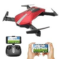 Selfie Drone, EACHINE E52 WIFI FPV Quadcopter Drone Avec Caméra RTF(Rouge)
