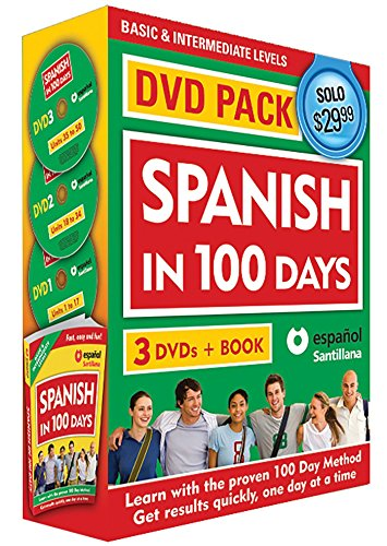 With the proven method Spanish in 100 Days we will teach you how to understand, speak, read and write in Spanish in only 100 days. This practical, modern, and easy method enables you to learn Spanish in an effective and entertaining way! You are invi...