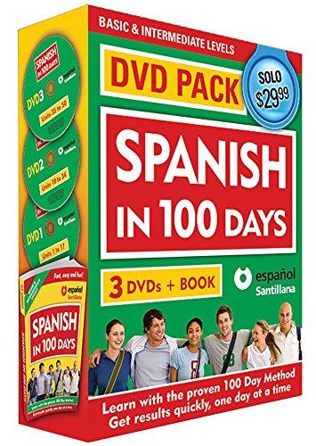 Spanish in 100 Days DVD PK / Spanish in 100 days DVD Pack (Spanish Edition) ()