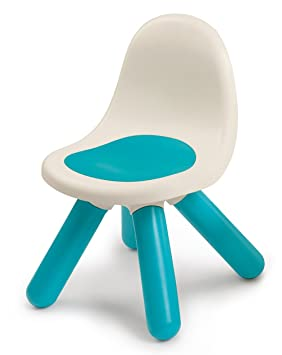 Smoby-3032168801028 Silla Infantil, Color Azul (880102)