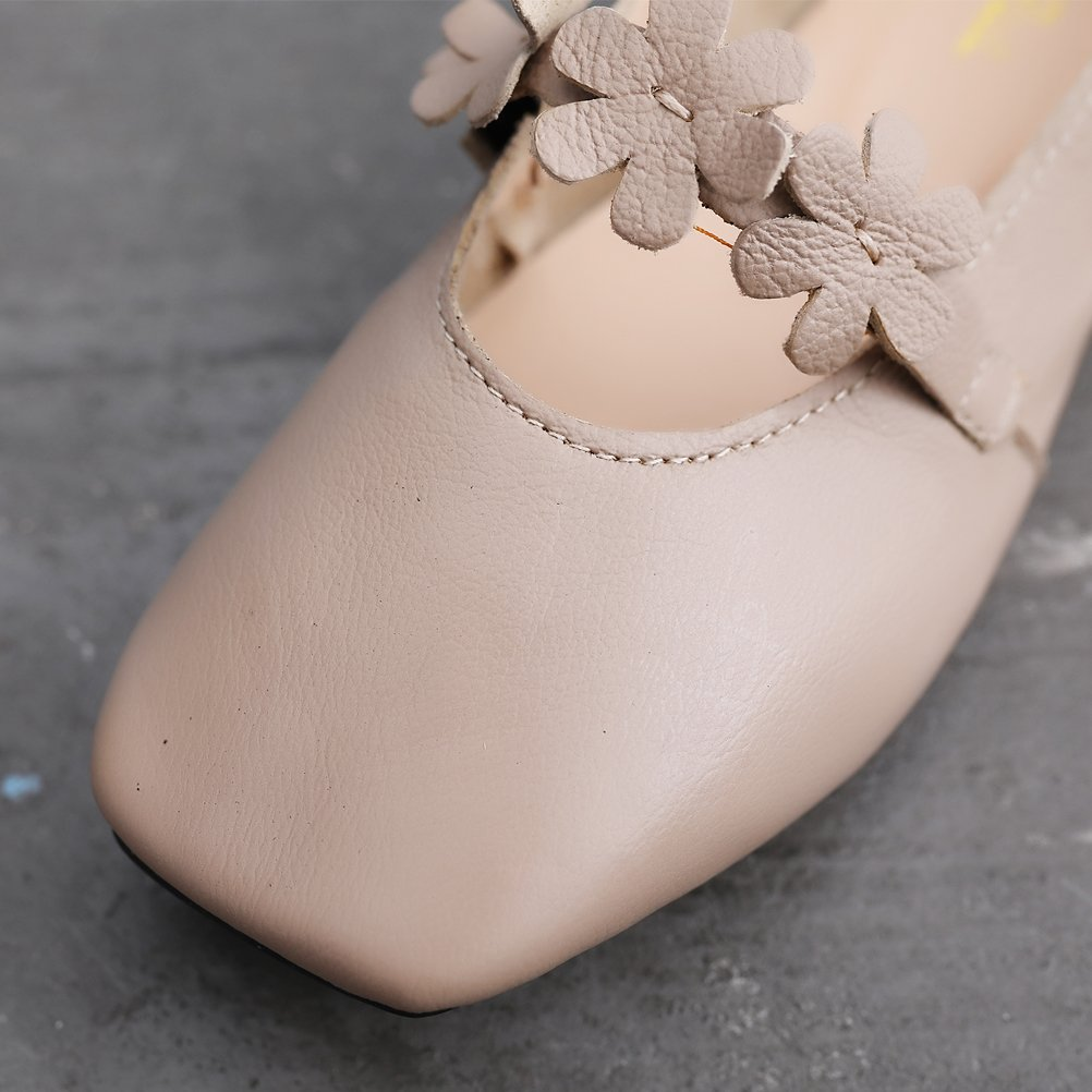 Mordenmiss Womens Daisy Glove Shoes Sweet Bow Flat