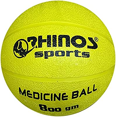 Rhinos Sports - Balón medicinal, pelota, varios colores ...