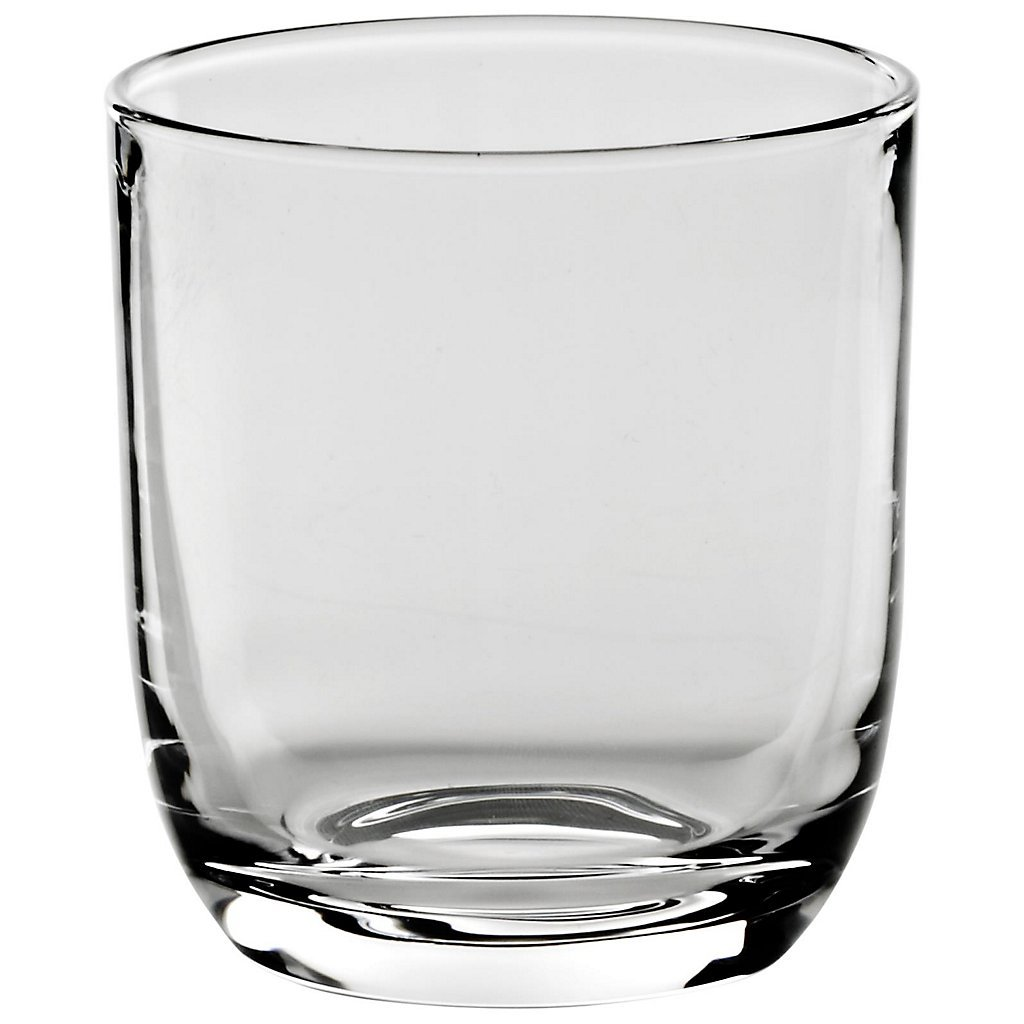 Whiskey glass ''SPIRIT'' 280 ml, glass, modern style, glass (GERMAN CRYSTAL powered by CRISTALICA)