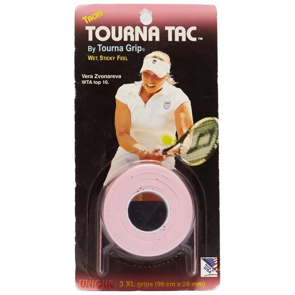 TOURNA Tac XL Overgrip de Tenis (Pack de 3 Grips), Rosa: Amazon.es: Hogar
