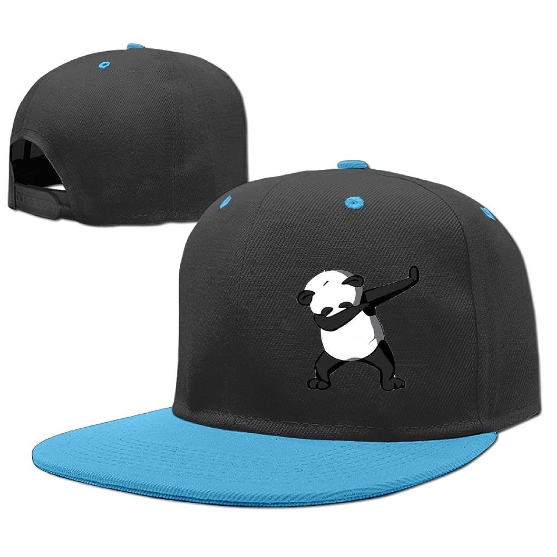 f8b86249ca2 Fjwriog Dabbing Dance Panda Family Adjustable Baseball Cap Red ...