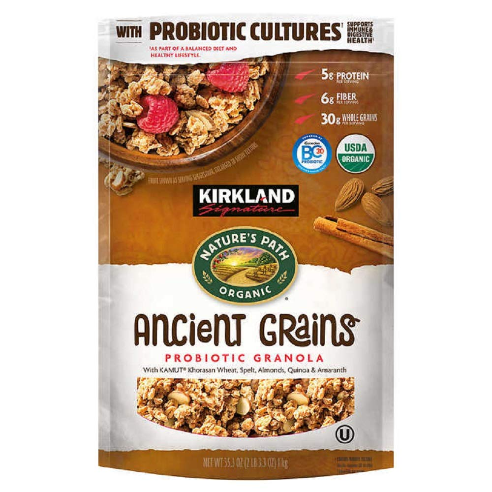 Kirkland Signature Nature's Path Organic Ancient Grain Probiotic Granola, 35.3 oz