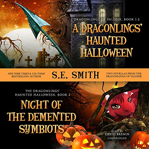 ''A Dragonlings' Haunted Halloween'' --and-- ''Night of the Demented Symbiots'' (Two Dragonlings of Valdier Novellas)]()
