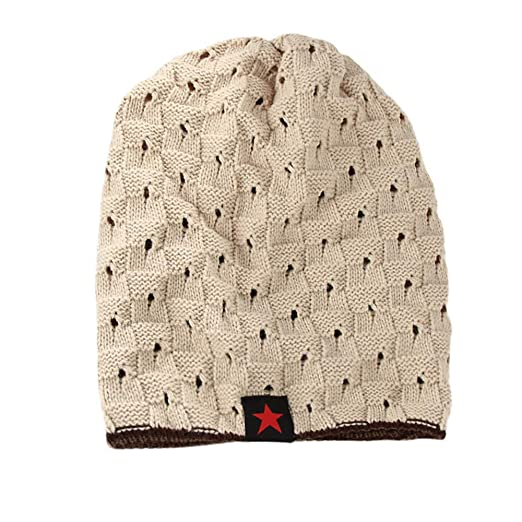 c70e9e042 Trendy Warm Chunky Soft Cable Knit Baggy Slouchy Beanie Hats Womens ...