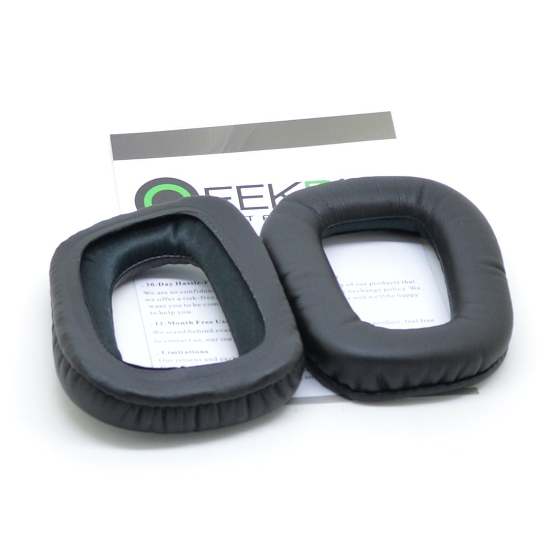 Geekria Earpad for Logitech G35 G930 G430 F450 Headphone//Headset Ear Pad//Ear Cushion//Ear Cups//Ear Cover//Earpads Repair Parts Black